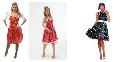 modelos de vestidos com poá