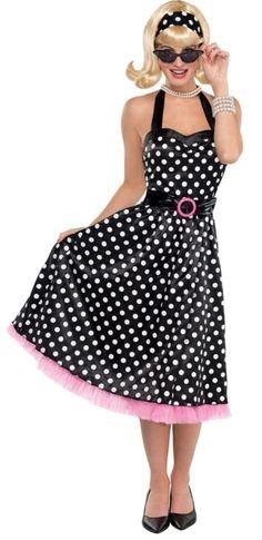vestido rosa e preto
