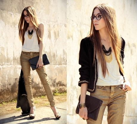 look fashion para shopping com jeans