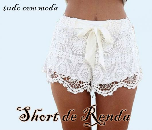 short de renda capa