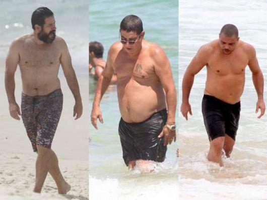 shorts homens acima do peso