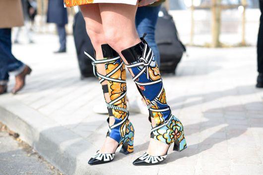 street style sapatos estilosos