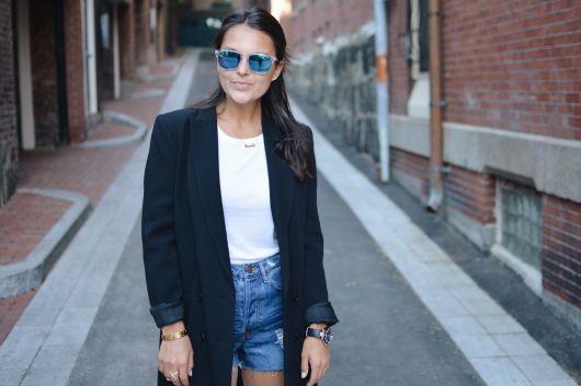 usar blazer na moda street style