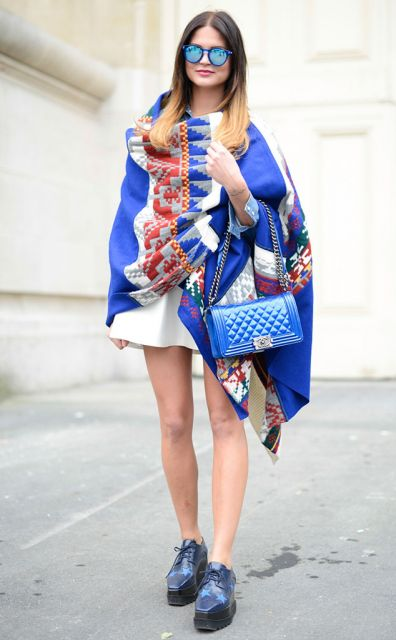 usar tunica com vestido moda street style