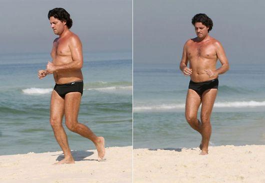 sunga lisa preta moda praia
