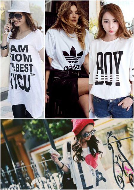 exemplo de t-shirt feminina estilosa