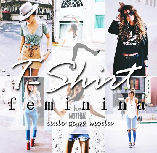 t-shirt feminina imagem de introdução