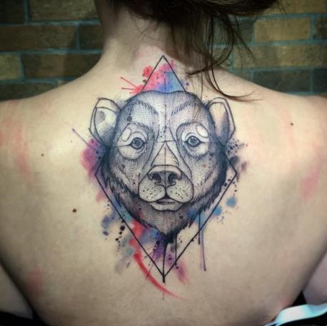 exemplo de tatuagem aquarela tyago compiani