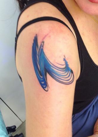 exemplo de tatuagem aquarela amanda wachob