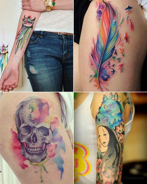 Tatuagem Aquarela 100 Inspira 231 245 Es Com Dicas E Artistas