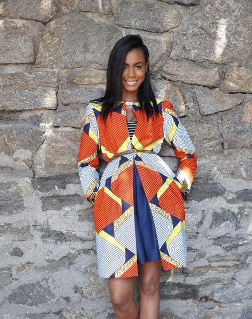 moda africana vestidos para o trabalho