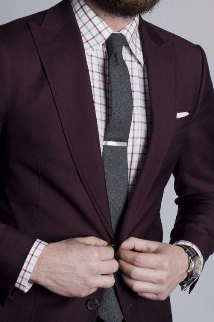 terno slim fit masculino alternativo