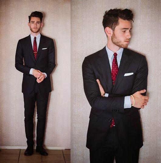 terno slim fit masculino formal