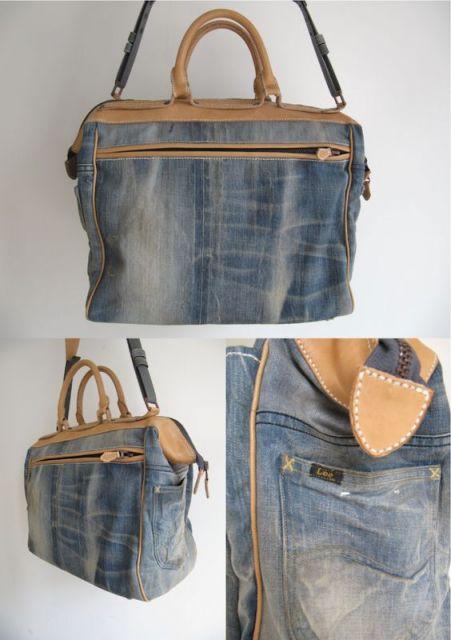 tipo de bolsa jeans