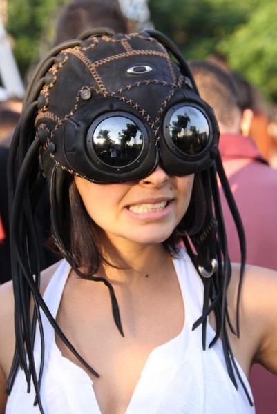 touca medusa okley mulher