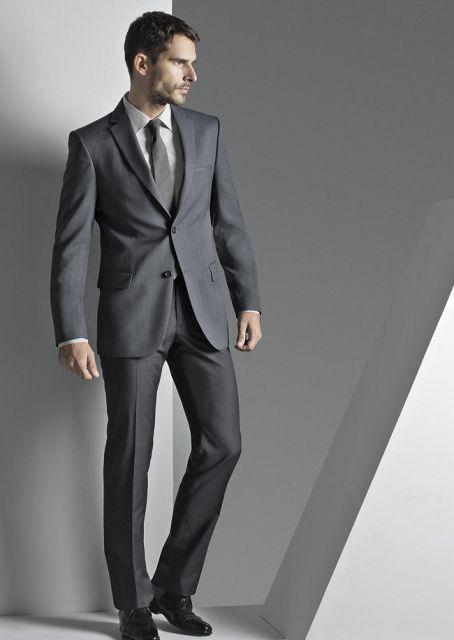 traje social masculino como usar