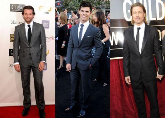 traje social masculino famosos
