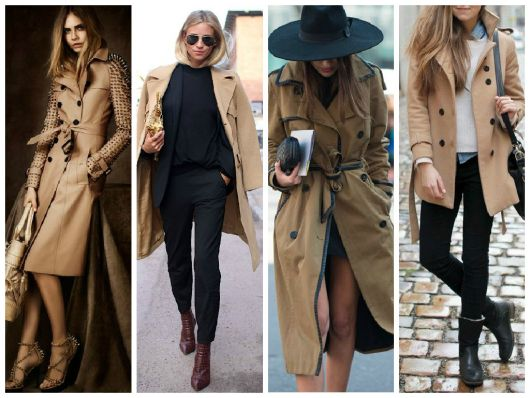trench coat caramelo