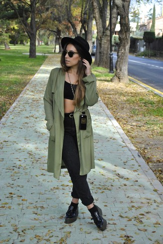 trench coat cropped