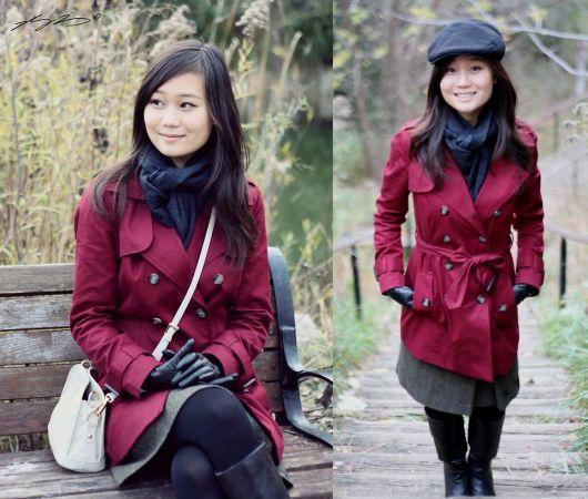 trench coat japonesa