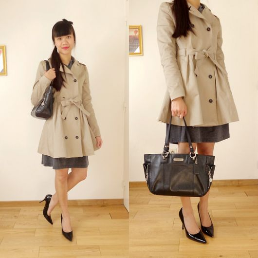 trench coat scarpin