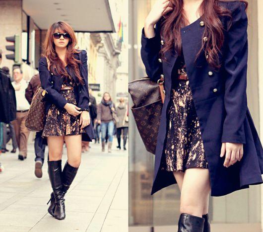 trench coat - vestido curto