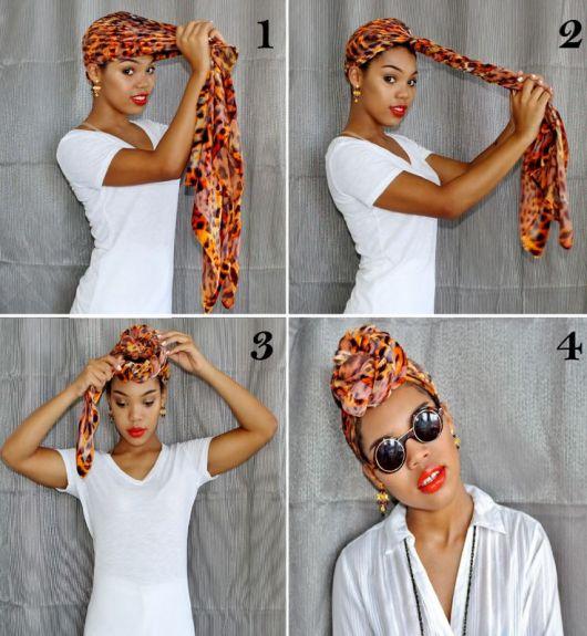 como amarrar turbante
