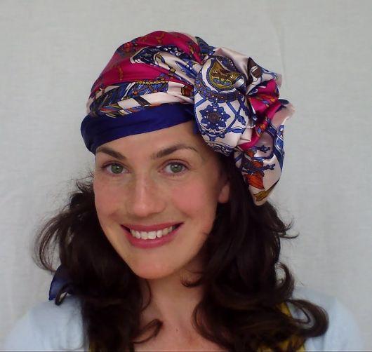 como usar turbante estilo anos 20
