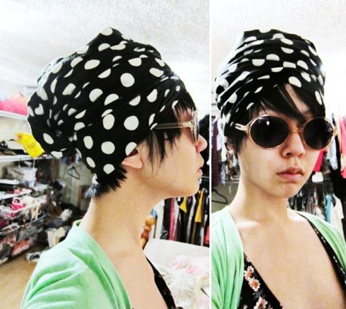 como usar turbante na moda vintage