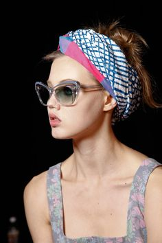 como usar turbante estampado