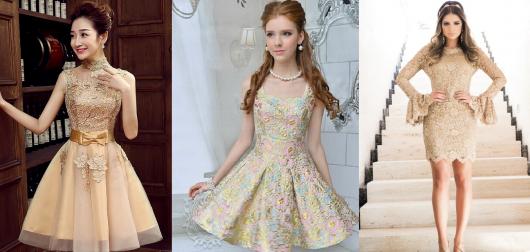 vestido de formatura curto 34 vintage