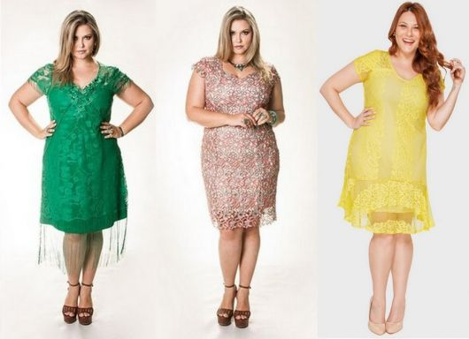 vestido de formatura curto 43 modelos plus size