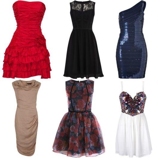 vestido de formatura curto 6 modelos