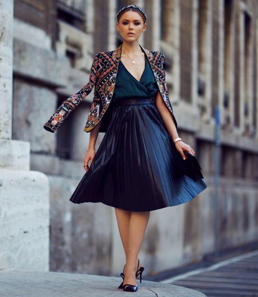 vestidos de seda com casacos