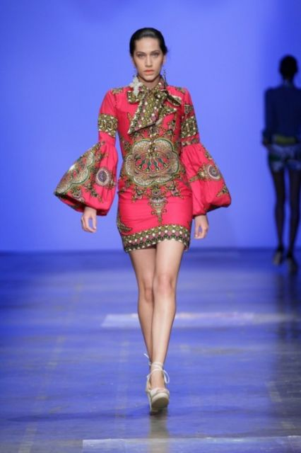 ideias de vestidos para moda africana