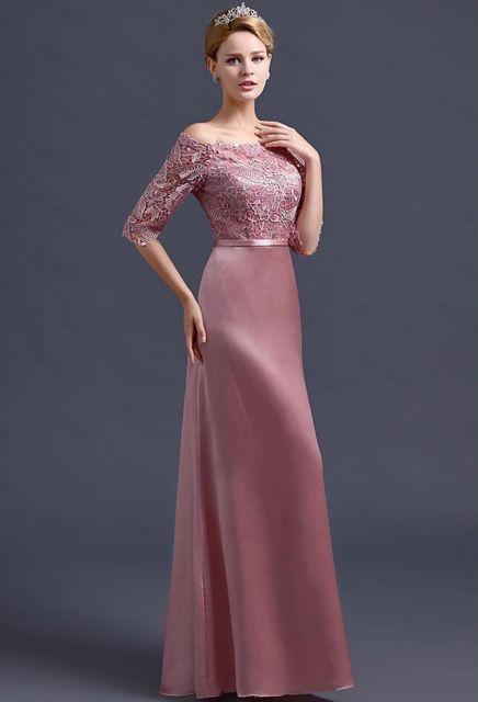 vestido ombro a ombro rosa debutante