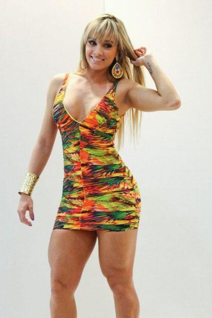 vestido panicat estampado juju