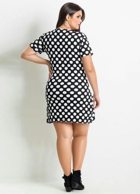c3c22c0515 Vestido preto e branco  Dicas para usar e 70 modelos lindos!