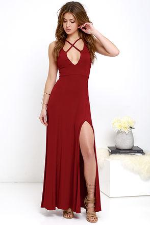 vestido vermelho longo sexy