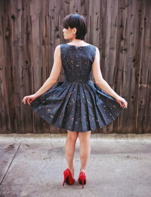 vestido vintage charme