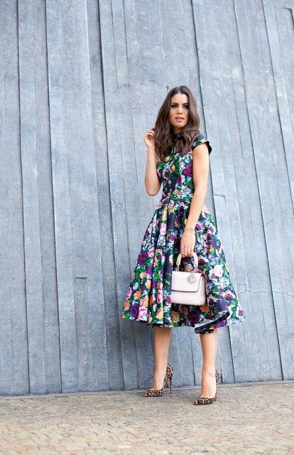 vestido vintage cores