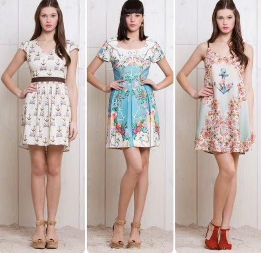 vestido vintage feminino
