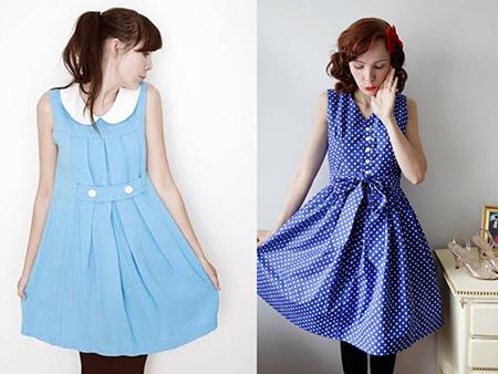 vestido vintage modelos