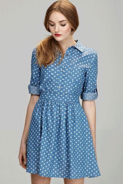 vestido vintage poás