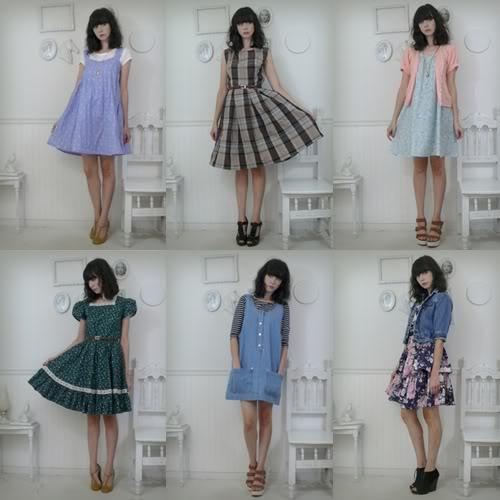 vestido vintage varios modelos