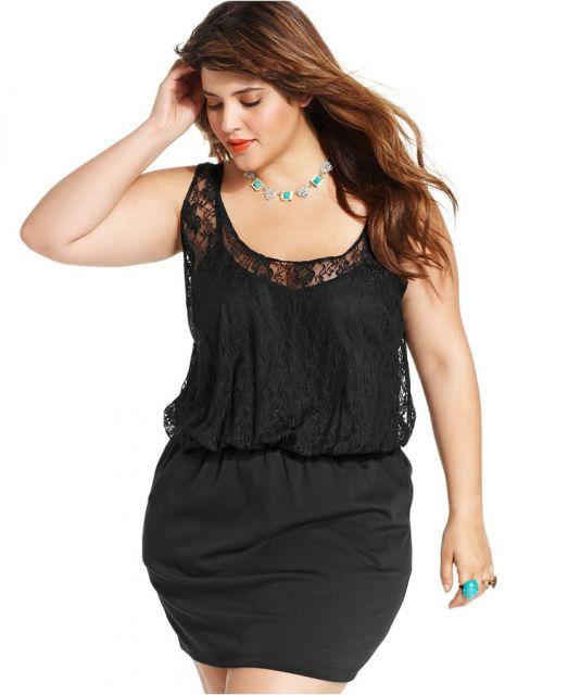 vestido preto para balada