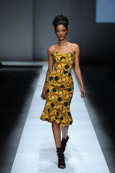 como combinar vestidos na moda africana