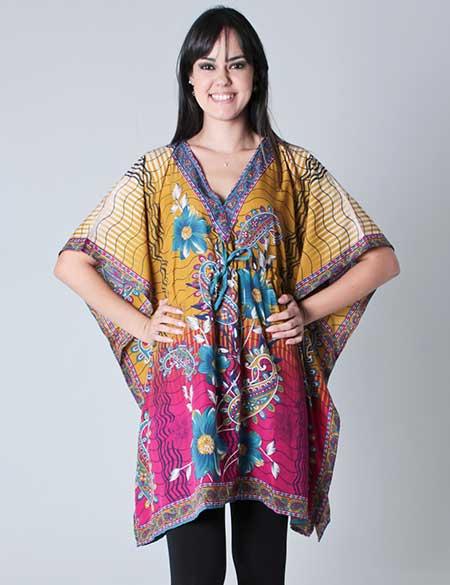 bata usada como vestido indiano