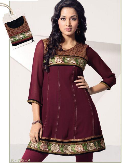 vestido indiano curto vinho