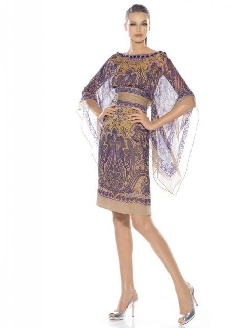 vestido indiano curto de festa